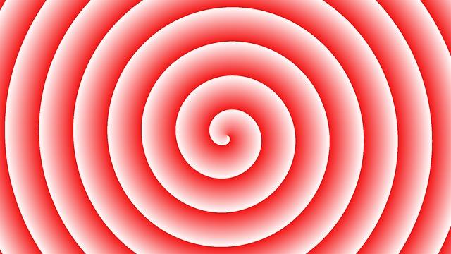červená spirála