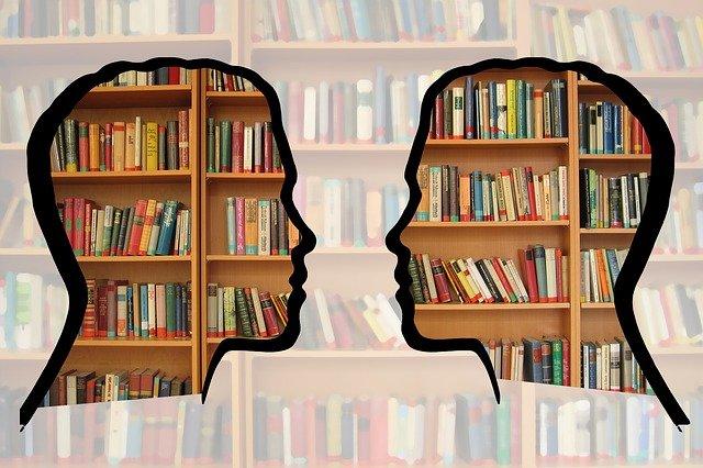 knížky v hlavách
