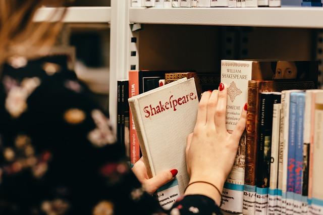 dívka v knihovně a Shakespeare