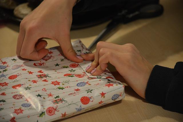 balení dárku
