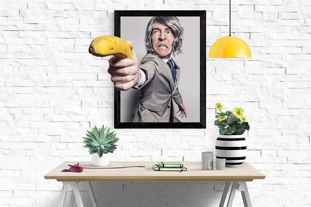 střelba banánem