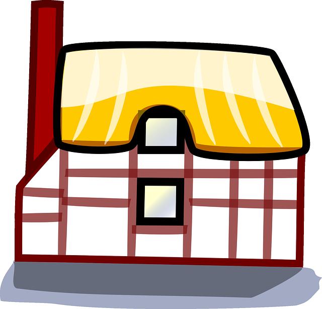 malovaná chata